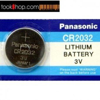 Panasonic ถ่านกระดุม lithium CR2032 (2 แพ็ค 10 ก้อน)