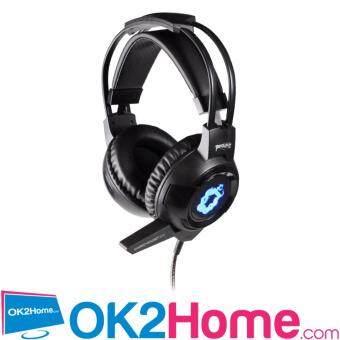 ประเทศไทย PENTAGONZ WARLOCK หูฟัง Headset มีไฟ LED - (สีดำ)