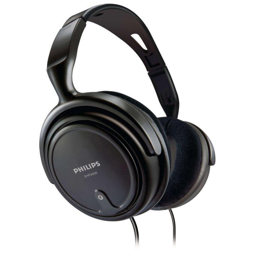 Philips หูฟังเเบบครอบหู รุ่น SHP2000 (Black)