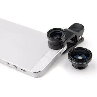 PM เลนส์ติดกล้องมือถือ แบบ 3 in 1 (สีม่วง) - 2