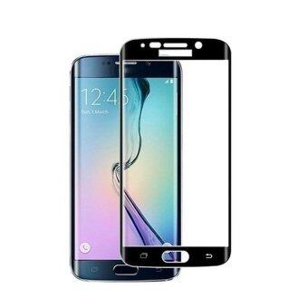 Premium Tempered Glass Screen Protector Film for Samsung Galaxy S6Edge (Black)