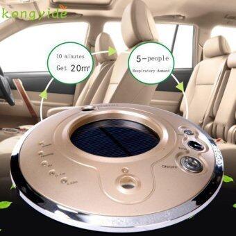 pretty Solar Car Air Purifier Anion Humidifier Aromatherapy Machine M25 - intl