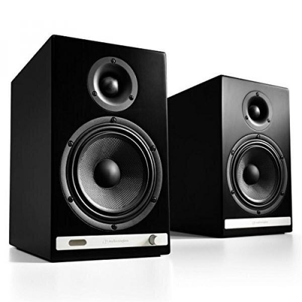 (Price Hidden)Audioengine HD6 Powered Bookshelf Speaker System (Black) - intl