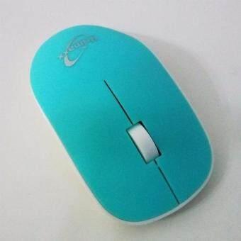 ซื้อ/ขาย Primaxx 2.4 Wireless Optical Mouse รุ่น WS-WMS-946 (สีฟ้า)