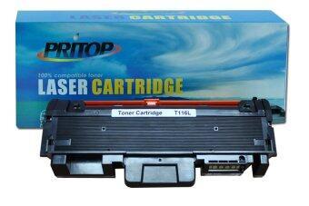 Pritop SAMSUNGSL-M2625/2626/2626D/2826ND/2825/2826/2675/2676N/M2676FH/2875/2876/2876HNใช้ตลับหมึกเลเซอร์เทียบเท่า รุ่น (SAMSUNG) MLT-D116L (สีดำ)
