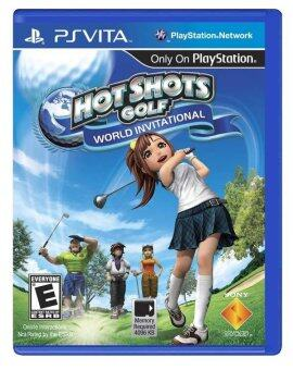 Harga PS Vita HOT SHOTS GOLF WORLD INVITATIONAL