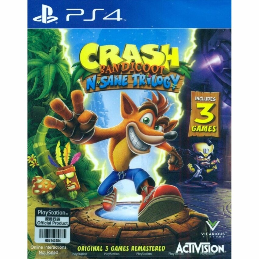 PS4 Crash Bandicoot N. Sane Trilogy Z3 Eng