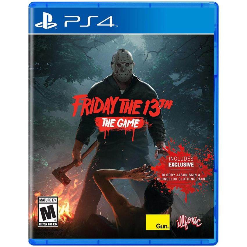 PS4 Friday The 13TH:The Game Z1 Eng