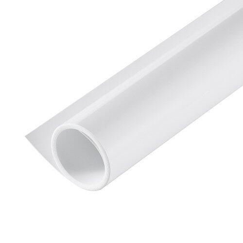 PVC White Background พื้นสีขาว ไว้สำหรับถ่ายภาพ สต๊อค สตูดิโอ ขนาด70*140cm
