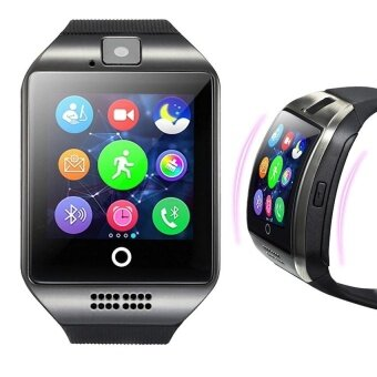 Q18 Smart watch with Touch Screen camera Support SIM TFcardBluetooth smartwatch for Android IOS Phone - intl