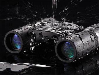 Qanliiy Binoculars 20x22 At High Magnification Hd Vision None Infrared Pocket Telescope -Int'L