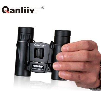 Qanliiy Binoculars 20x22 At High Magnification Hd Vision None Infrared Pocket Telescope - intl