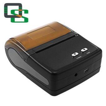 QS 8001 Bluetooth 4.0 Portable Mobile Printer(Black) - intl