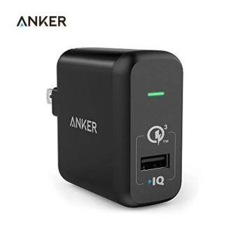 Quick Charge 3.0, Anker 18W USB Wall Charger US/EU Plug (Quick Charge 2.0 Compatible) PowerPort+ 1 for LG Nexus iPhone iPad - intl