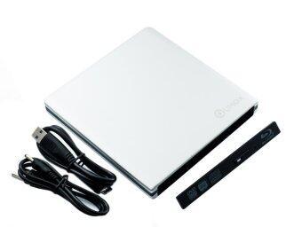 QUMOX ตัวแปลง USB 3.0 slim SATA 12.7mm blu-ray DVD CD Driveexternal case Enclosure