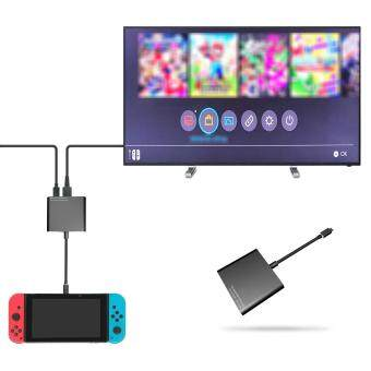 Qumox USB-C to HDMI output adapter Converter For Nintendo Switch