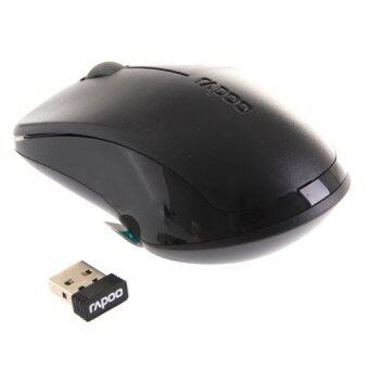 ราคา RAPOO Wireless Optical Mouse (MS1620-BK) Black