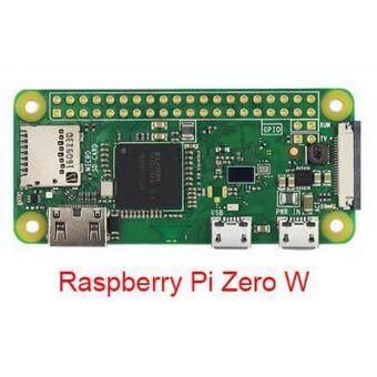 เมนบอร์ด Raspberry Pi Zero W Board with WIFIBluetooth 1GHz CPU 512MB RAM 1080P HD