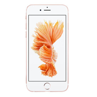 REFERBISHED Apple iPhone 6S 64GB Rose Gold Free Case + ScreenProtector