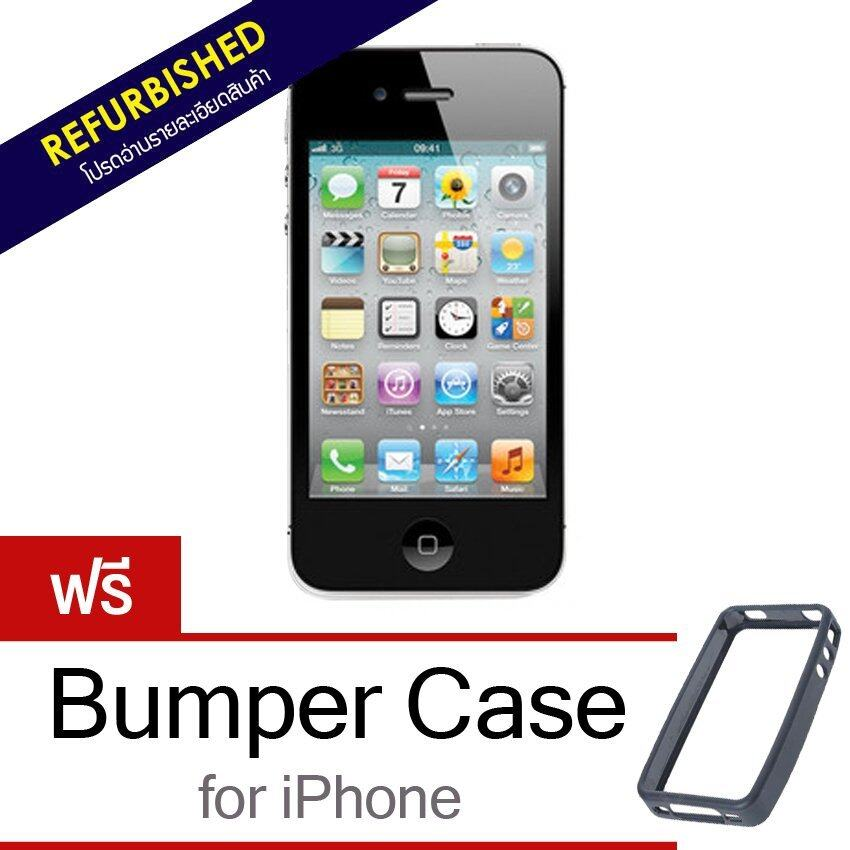refurbished iphone 4s refurbished apple iphone 4s 16gb black ส นค า apple 12849