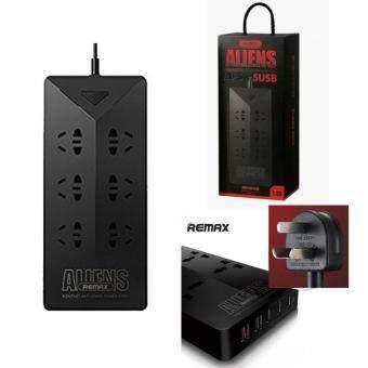Remax ปลั๊กไฟ Aliens Plug USB Charger 5USB รุ่น RU-S4