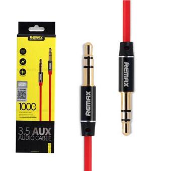 Remax Aux Audio 3.5 M/M Cable สายยาว 1M (สีแดง)