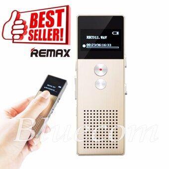 Remax เครื่องบันทึกเสียง Voice Recorder 8GB RP1 สีทอง