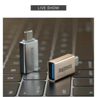 REMAX OTG TYPE-C USB Adapter Mini Double-Sided Fast Charging Data Transmission With U-Disk Transfer Type C To USB 2.0/ 3.0 /3.1  Adaptor