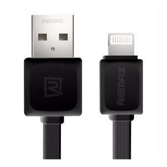 เสนอราคา Remax สายชาร์จ รุ่น RC-008i 1M Quick Charge and Data Cable MicroUSB for iPhone 5 / 5C / 5S / 6 / 6 Plus / 7 / 7 Plus/ iPad (ดำ)