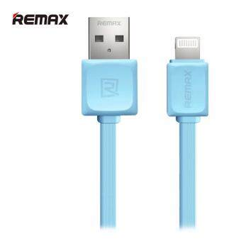 Remax สายชาร์จแบบ usb Lightning Cable For iPhone i5/i6/i7 รุ่น RC - 008i quick charge (1M,สายแบน)