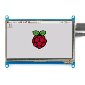 Rev2.1 Original 7 Inch HDMI LCD Screen Module capacitive touch for Raspberry Display Ultra Clear For Raspberry Pie 1024X600 - intl