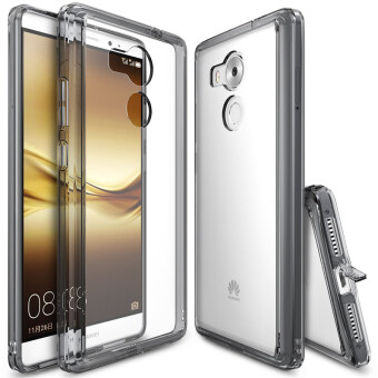 Ringke Fusion PC And TPU Back Cover Case For Huawei Mate 8 (Smoke Black) - intl