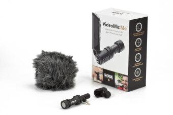 Rode VideoMic Me - Compact iPhone/iPad/Smartphone Microphone (3.5mm TTRS)