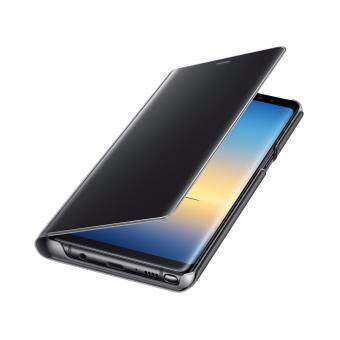 Samsung Galaxy Note8 Clear View Standing Cover สี Black - 4