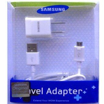 Harga Samsung ชาร์ต+สายSamsung Galaxy J1/J2/J5/J7 Micro USB Data Cable +Home Wall Charger (สีขาว)