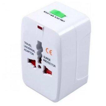 ประเทศไทย Sassy ปลั๊กไฟทั่วโลก ใช้ต่างประเทศ Adapter / ปลั๊ก Universal ( สีขาว )