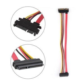 ประกาศขาย SATA 7 + 15 pin extension cord hard disk Male to female extensioncable 30cm - intl