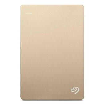 ราคา Seagate HDD Ext 2TB Backup Plus Slim 2.5 USB3.0 Gold (STDR2000307)
