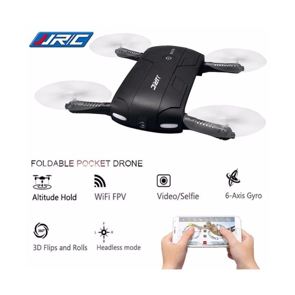 SELFIE DRONE RC113 โดรนจิ๋วพับได้ ใส่กระเป๋า/ โดรนเซลฟี่ บินนิ่งถ่ายวีดีโอ HD2 ล้านกล้องปรับมุมได้ ภาพนิ่ง บินตามคำสั่งด้วยเสียงได้ควบคุมด้วยโทรศัพท์มือถือ 2.4GHz 6 axis FPV เชื่อมต่อ WIFI