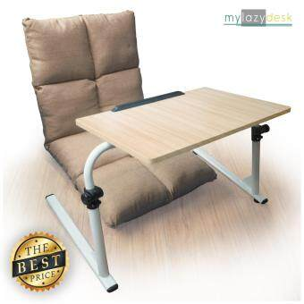 ประกาศขาย ShabbyChic โต๊ะวางโน๊ตบุ๊ค เบาะรองนั่ง (แพคคู่รุ่น H07-115cmสีครีม+J01สีไม้อ่อน)แท่นวางโน๊ตบุ๊ค