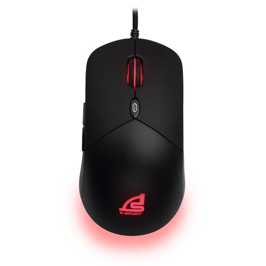 SIGNO E-Sport KRAKEN Macro Gaming Mouse รุ่น GM-915 (Black)