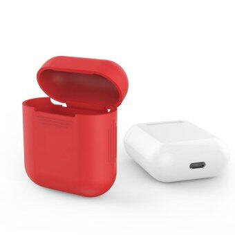 Silicone Shock Proof Protective Case Cover for Apple AirPodsHeadphone - intl