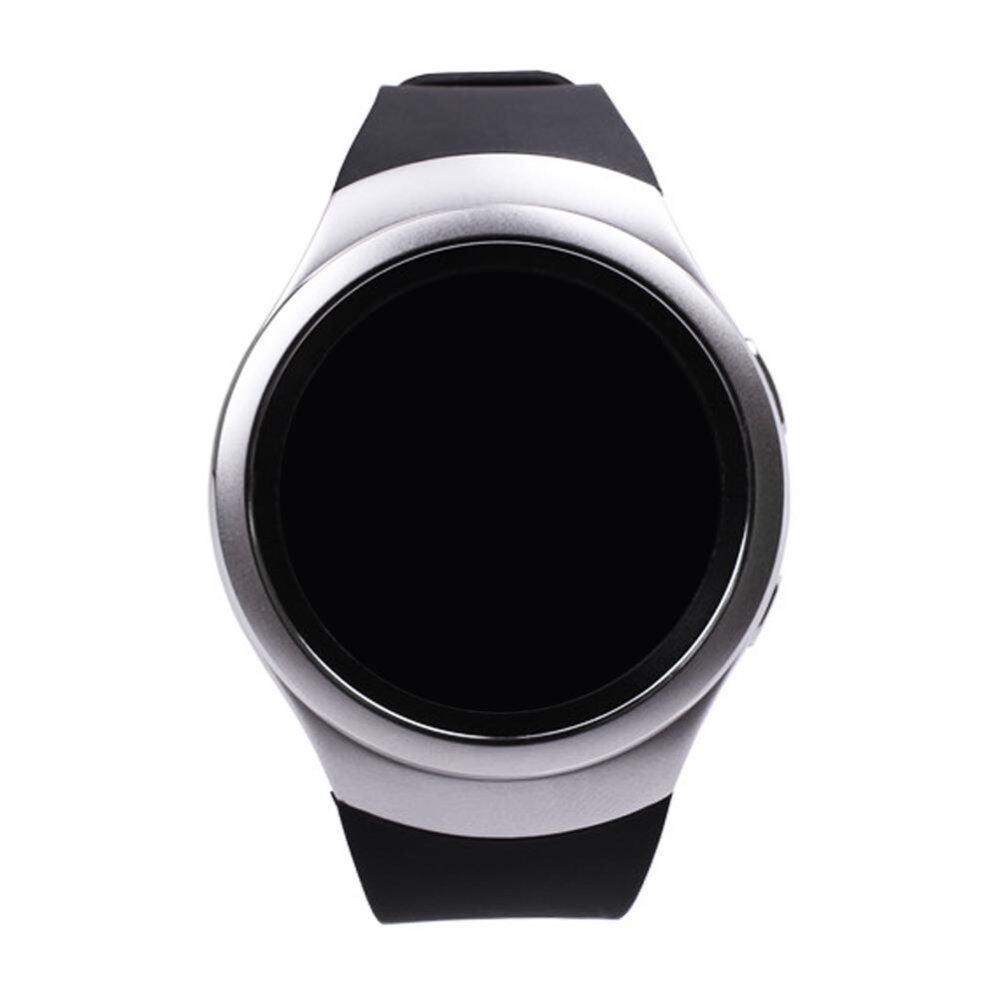 Silicone Watch Band for Samsung Galaxy Gear S2 SM R720 Black intl .