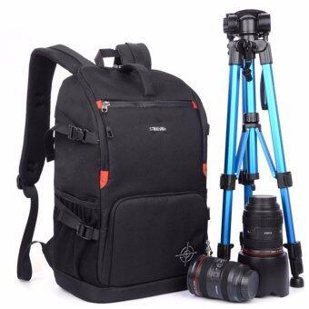 SINPAID Otzi กระเป๋ากล้อง เป้สะพายหลัง กันน้ำ สีดำ