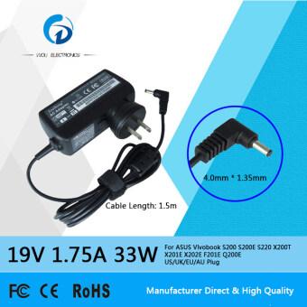 ซื้อที่ไหน Siu Hong 19V 1.75A 33W Ac Laptop Power Adapter Charger For AsusVivobook S200