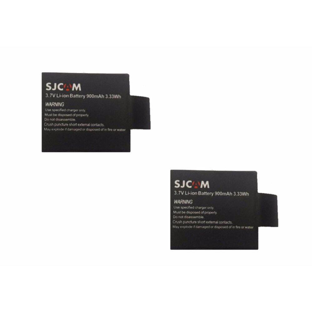 SJCAM แบตเตอร์รี่สำหรับกล้อง SJ4000 SJ4000Wifi SJ5000X SJ5000+ SJ5000Wifi - 3.7 Li-ion Battery 900mAh 3.33Ah ซื้อ 2 ราคาพิเศษ