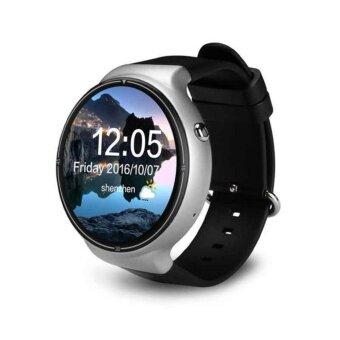 สมาร์ทนาฬิกา 1.39 นิ้วจอแสดงผล MTK6580 Quad Core Android 5.1 แรม 2 กิกะไบต์ + 16 กิกะไบต์ ROM 3 กรัม WIFI GPS Bluetooth Heart Rate Monitor สำหรับ Android iOS Smartphone