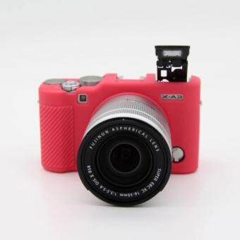 เคสซิลิโคล Soft Silicone Camera case Protective Rubber Cover Case Skin For Fujifilm Fuji XM1 X-M1 XA1 X-A1 XA2 X-A2 X-A3Camera bag