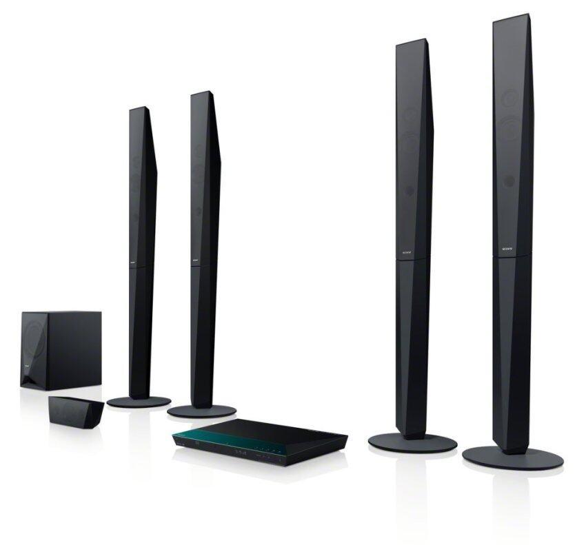 Sony BDV-E6100 -Home cinema system- Black