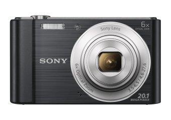 SONY CYBER SHOT กล้องดิจิตอล 20.1 ล้านพิกเซล รุ่น DSC-W810 สีดำ